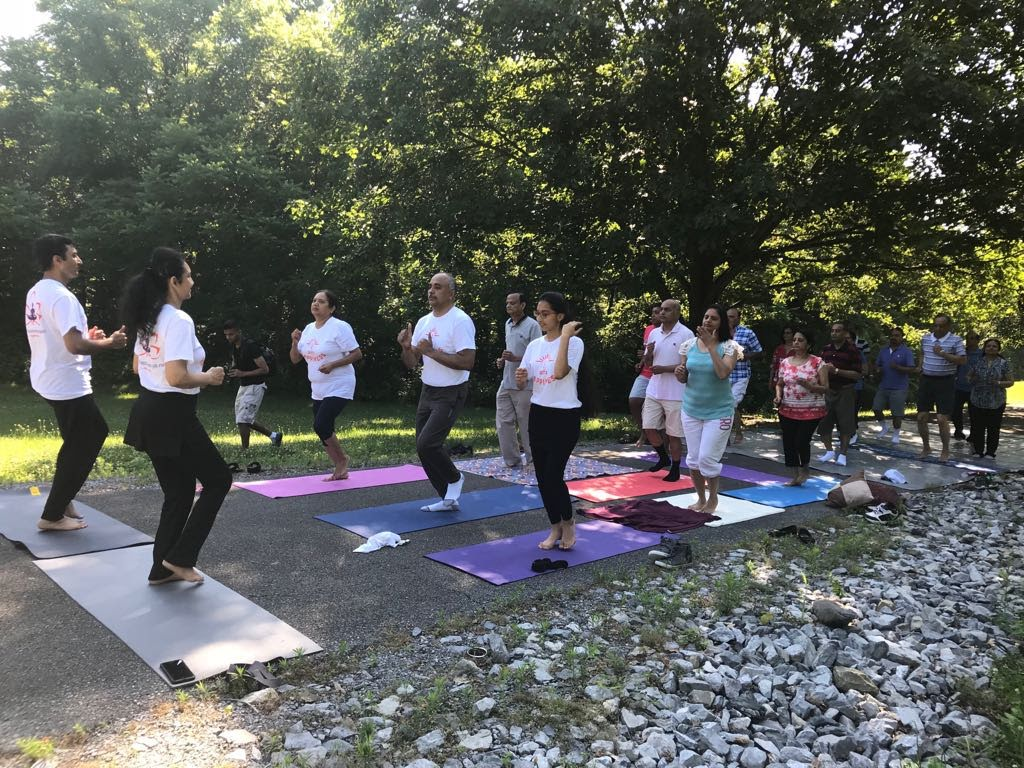 Yoga Retreat at Reading, Pennsylvania , July 2018