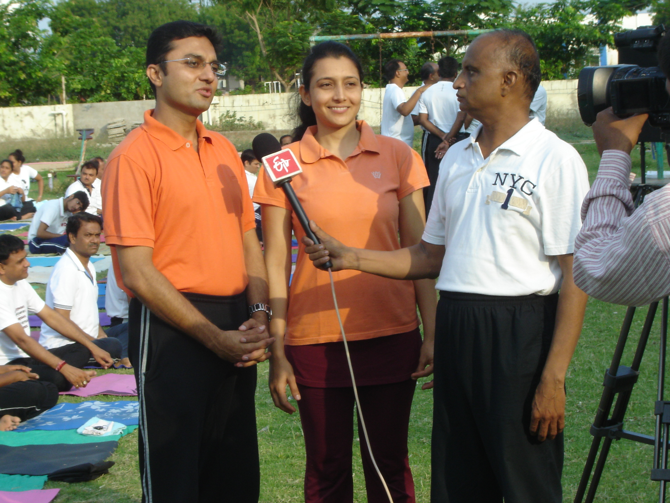 Media is taking notice of our wellness activities for community, 2015