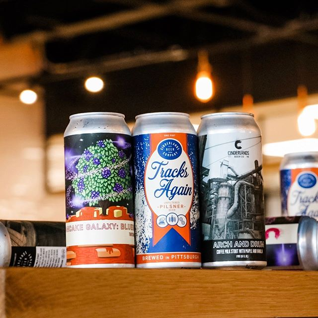 **CAN RELEASE UPDATE**⁣ ⁣At 11:30am, out of the brewery roll-up door (the one to the right of Raymer's mural) we are releasing cans of Pancake Galaxy: Blueberry, Tracks Again and Arch and Drum!⁣ ⁣-⁣ ⁣Pancake Galaxy: Blueberry (TartShake Double IPA, 9.5%, 50 Cases Available, 1 case per person, max)⁣ ⁣Our wild invention, the Tartshake IPA, gets a new twist with a sumptuous blueberry pancake breakfast treatment. Big ripe fruit up front with baking spice layering underneath and grounding into vanilla and milk sugar sweetness. Decadently full body and long, lingering finish.⁣ ⁣-⁣ ⁣Tracks Again (Unfiltered Pilsner, 5.2%, 70 Cases Available, 1 case per person, max)⁣ ⁣Our beloved house pilsner. Bright, lemony, spicy noble hop aroma with crackery, bready German pils malt flavor and bone dry finish with firm bitterness. Golden-colored and gently hazy, dropping bright over time.⁣ ⁣-⁣ ⁣Arch and Drum (Coffee Milk Stout with Maple and Vanilla, 10%, 50 cases Available, 1 case per person, max)⁣ ⁣Huge deep, roasty aromas of espresso grounds, vanilla, and bakers chocolate. Lusciously thick and creamy on the palate with a maple undercurrent and surprising brightness from acid-forward Kenyan coffee. Long, lingering finish that winds back and forth between sharp roast and smoothing sweetness.⁣ ⁣-⁣ ⁣See you soon! #cinderlandsbeer