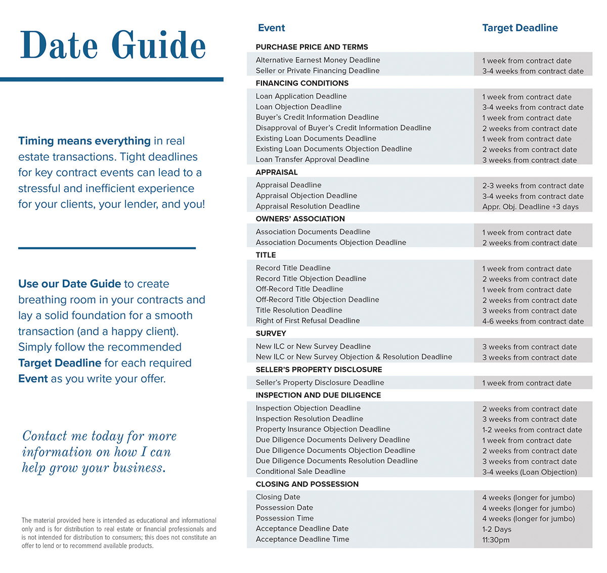Mortgage Process - Referral Only - Contract Date Guide - ActOn.jpg