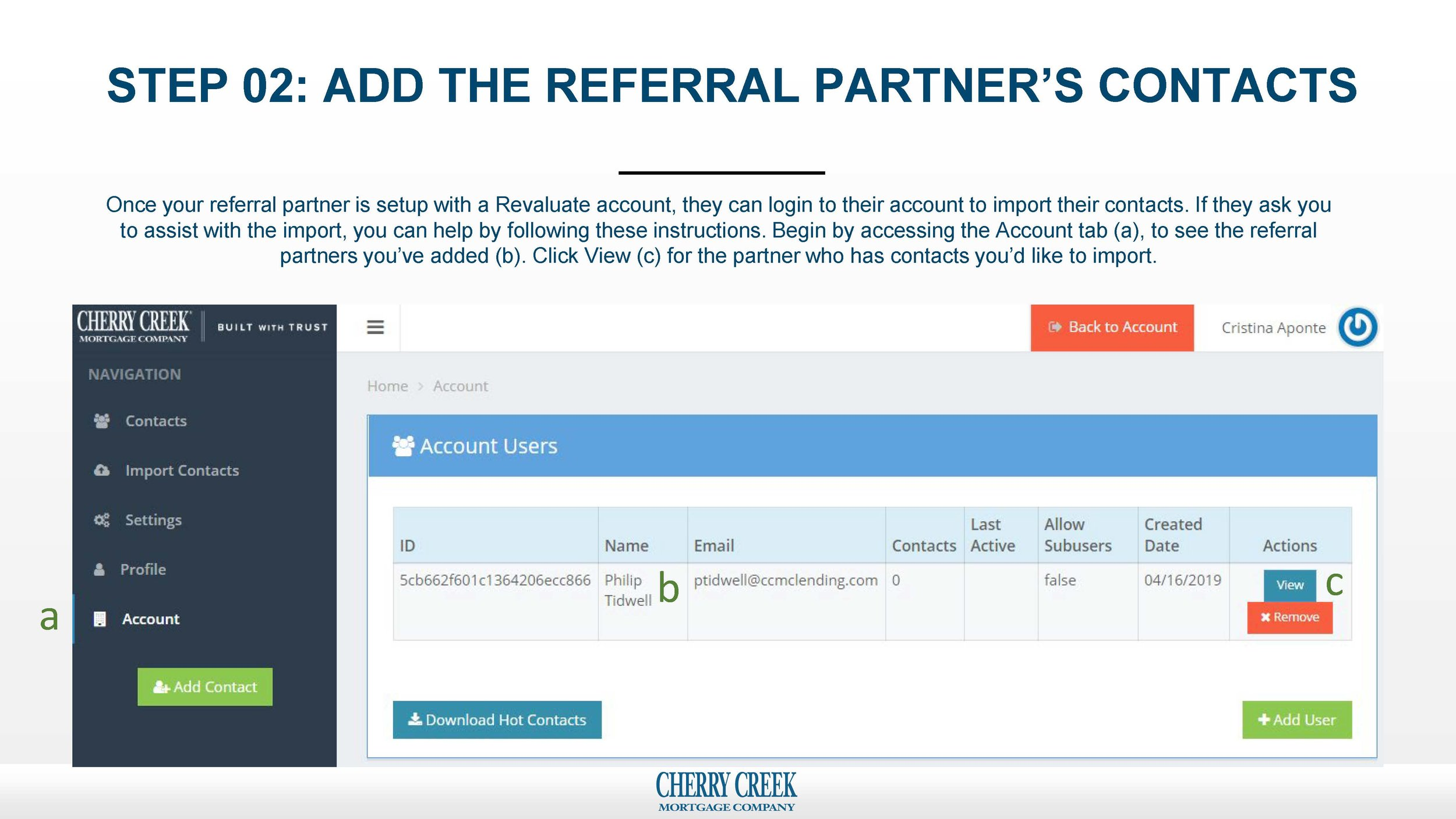 Predictive Analytics - How to add a referral partner_add their contacts_and view their hot list_Page_04.jpg