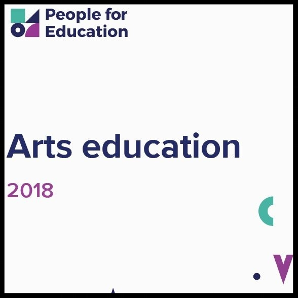 People for Education - 2018 Arts Education Report    READ:   New data from People for Education show that, despite the widely recognized importance of arts education, equitable access to arts programs and resources is an ongoing challenge for Ontario's schools. Students in small and rural schools, in schools with higher levels of poverty, and in schools with lower levels of parental education are less likely to have access to learning opportunities in the arts.
