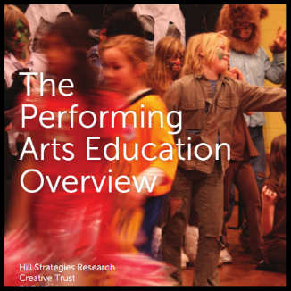 Performing Arts Education Overview    READ:  In 2011, PAONE and Creative Trust partnered to produce this report of arts education. This report is a must-read for arts education professionals.