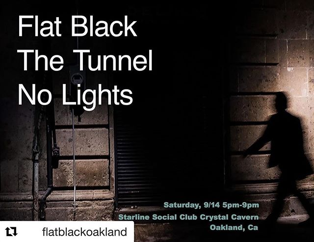 Next Flat Black show this Saturday in Oakland at the Starline Social Club. It's an early one for all us old folks. #flatblackoakland #thetunnelsf #nolightsband #starline_social_club #noiserock #metal #oaklandmusicscene