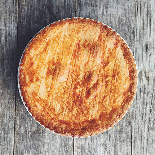 Pumpkin Gateau Basque