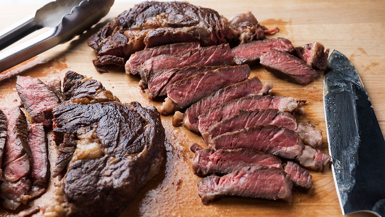 Sous-Vide Rib Eye Steak