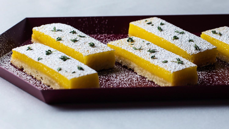 Lemon-Thyme Bars