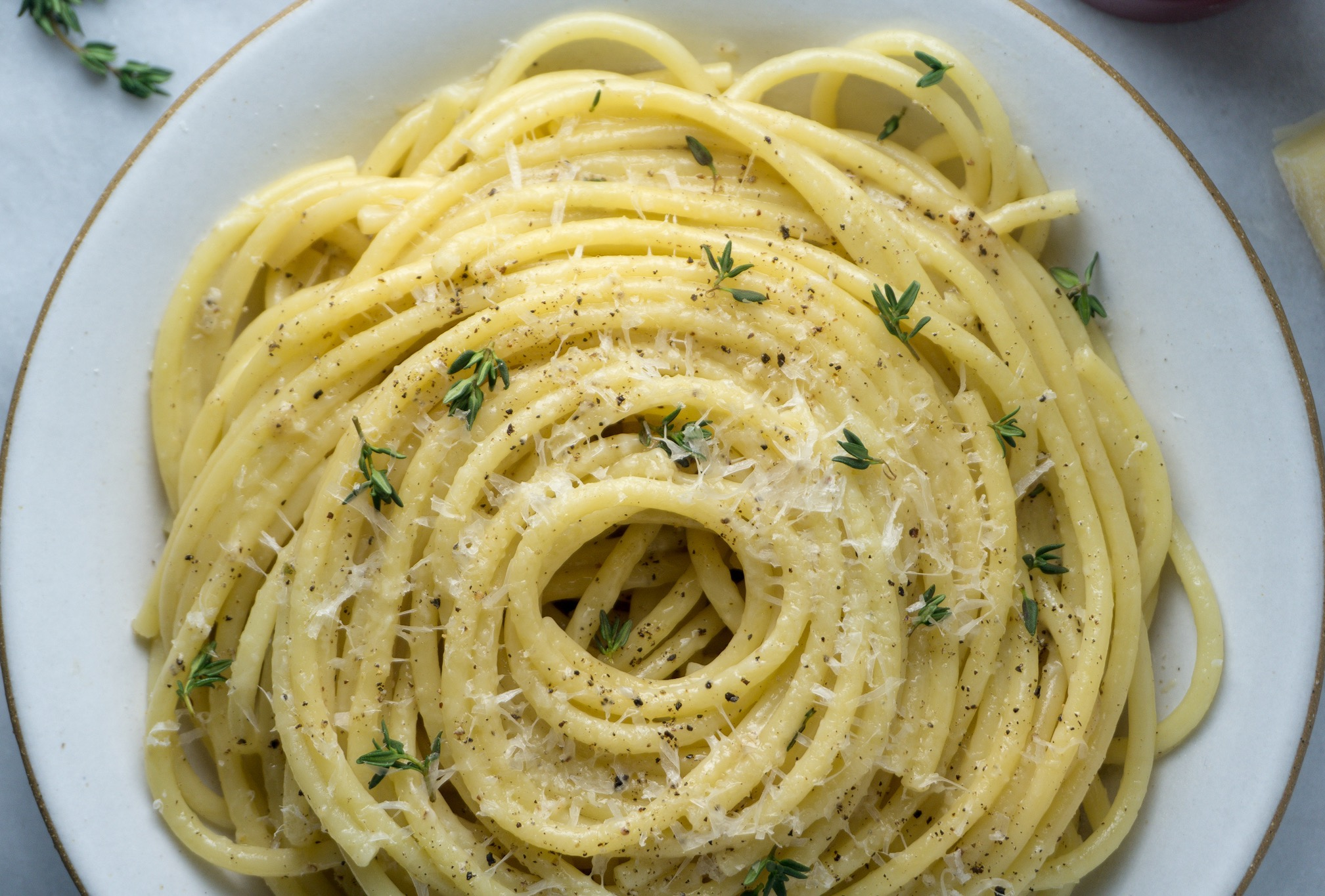Brown Butter Cacio e Pepe