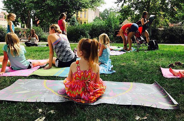 Little Yogini in the Park!