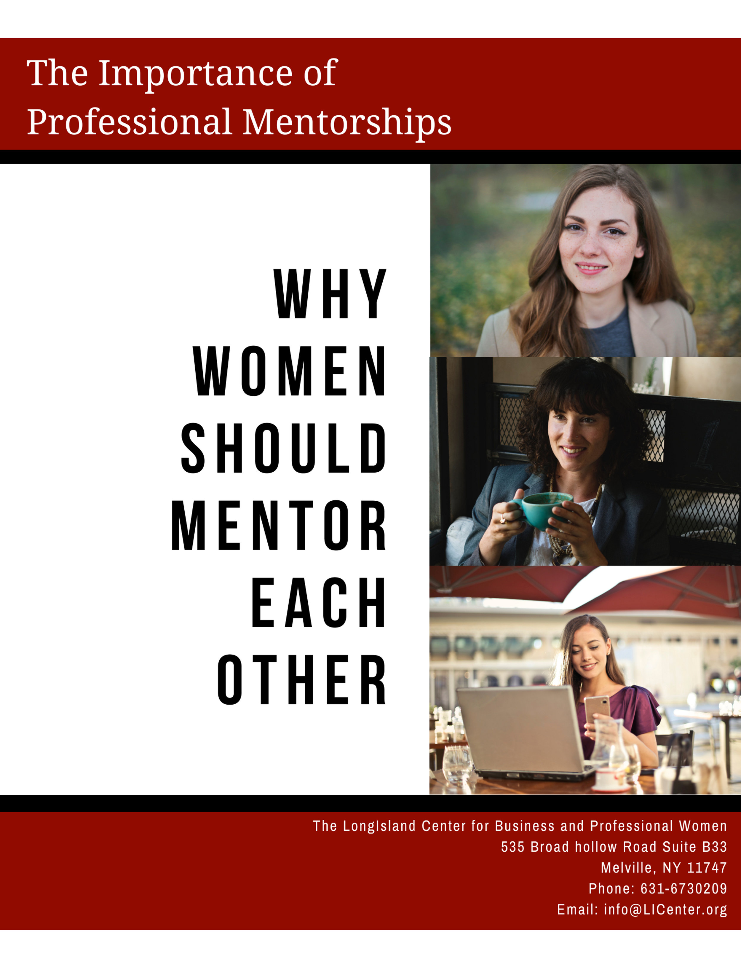 Download Here - Title: The Importance of Professional Mentorships (Why Women Should Mentor Each Other)