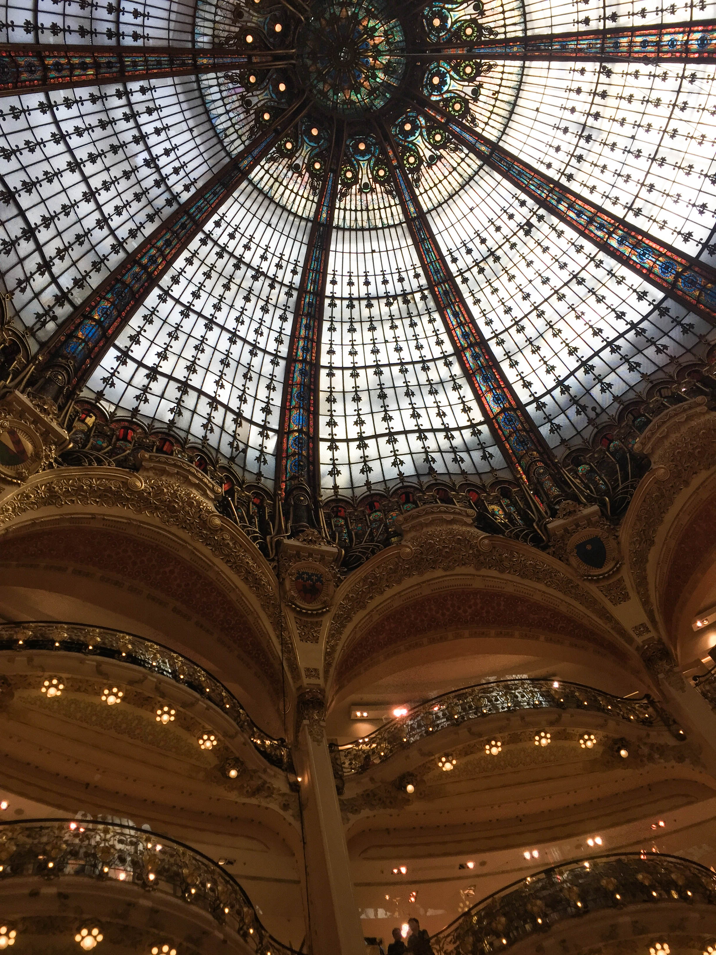 Dome at Galleries Lafayette