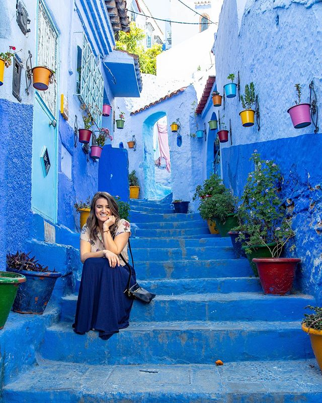We had lots of fun exploring the blue streets of Chefchaouen. Our latest blog post gives some ideas for exploring this Morrocan city. Link in bio. . . #chefchaouenmorocco #chefchaouen #bluecity #morocco🇲🇦 #morocco