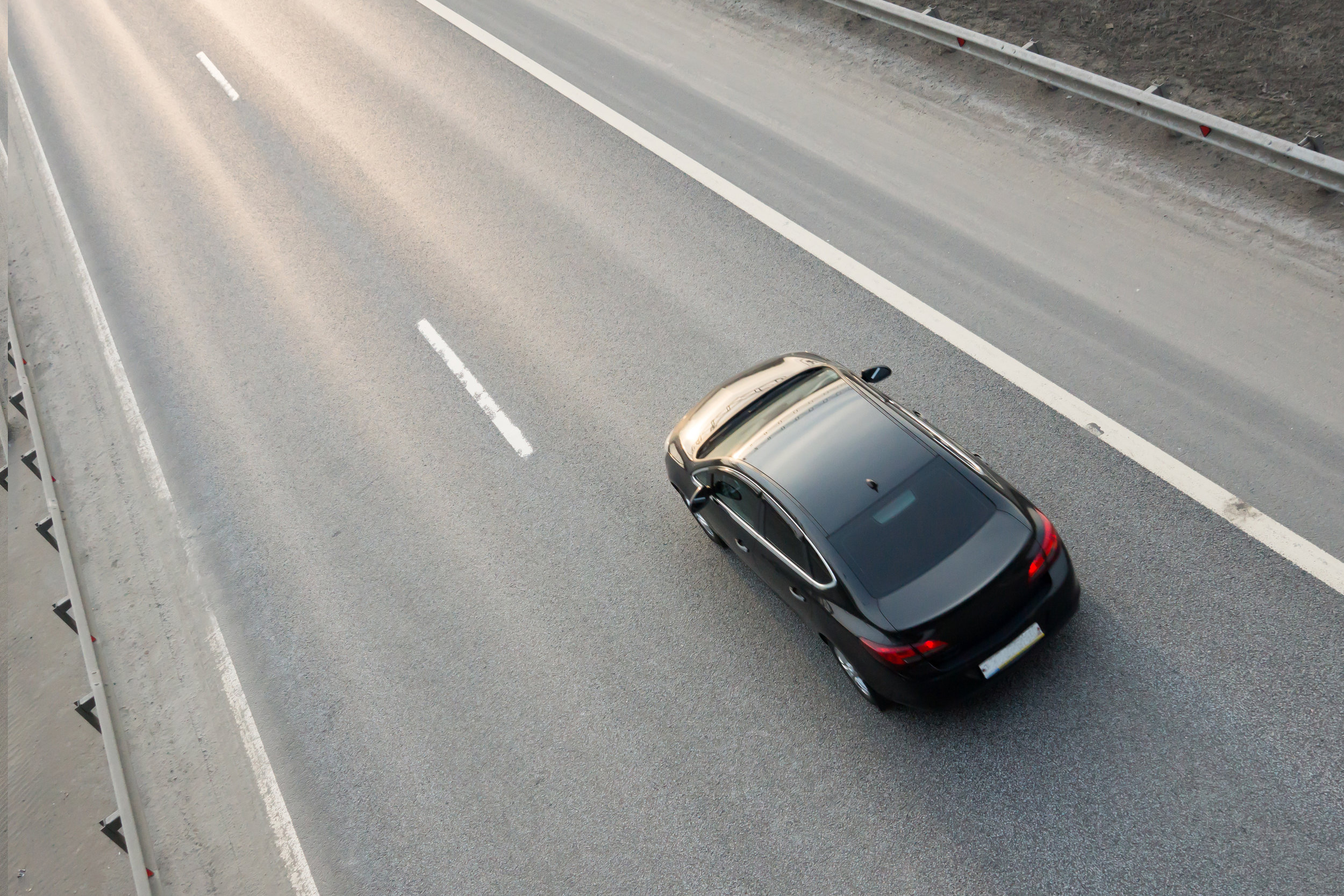 Vehicle Driving On Highway