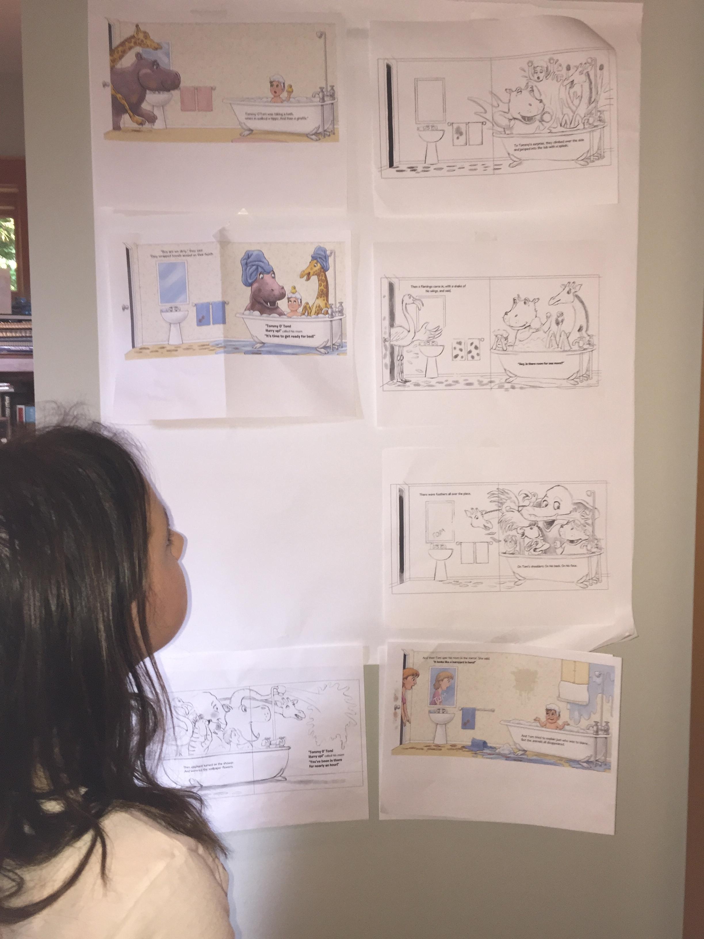 Katie Storyboarding.JPG