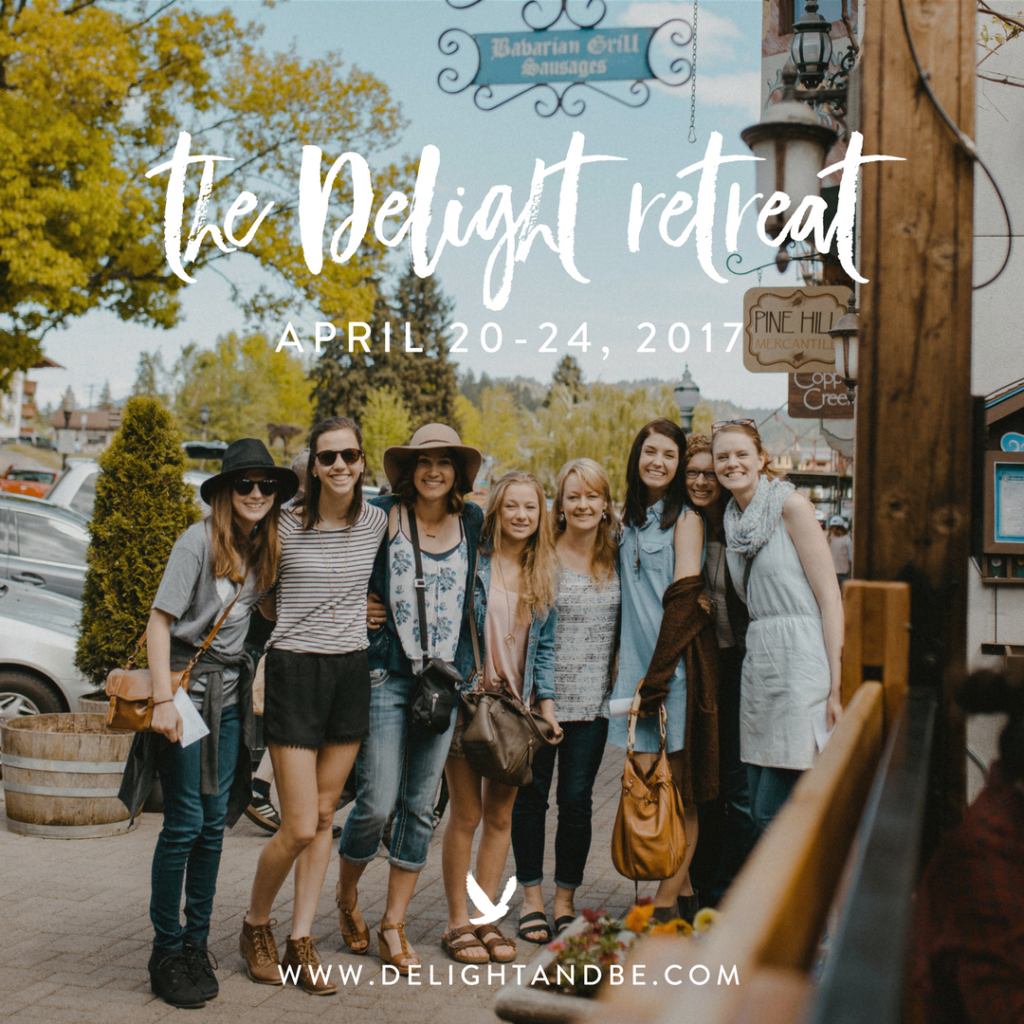 delight & be spring retreat