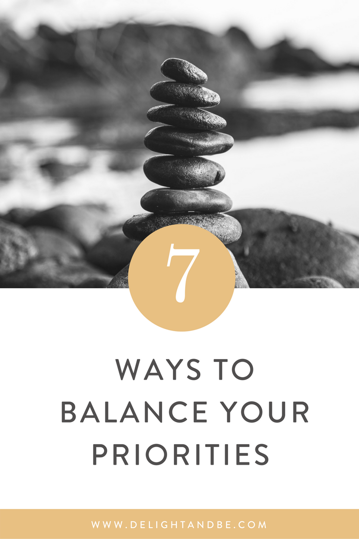 Adulting 101: 7 Ways to Balance Your Priorities