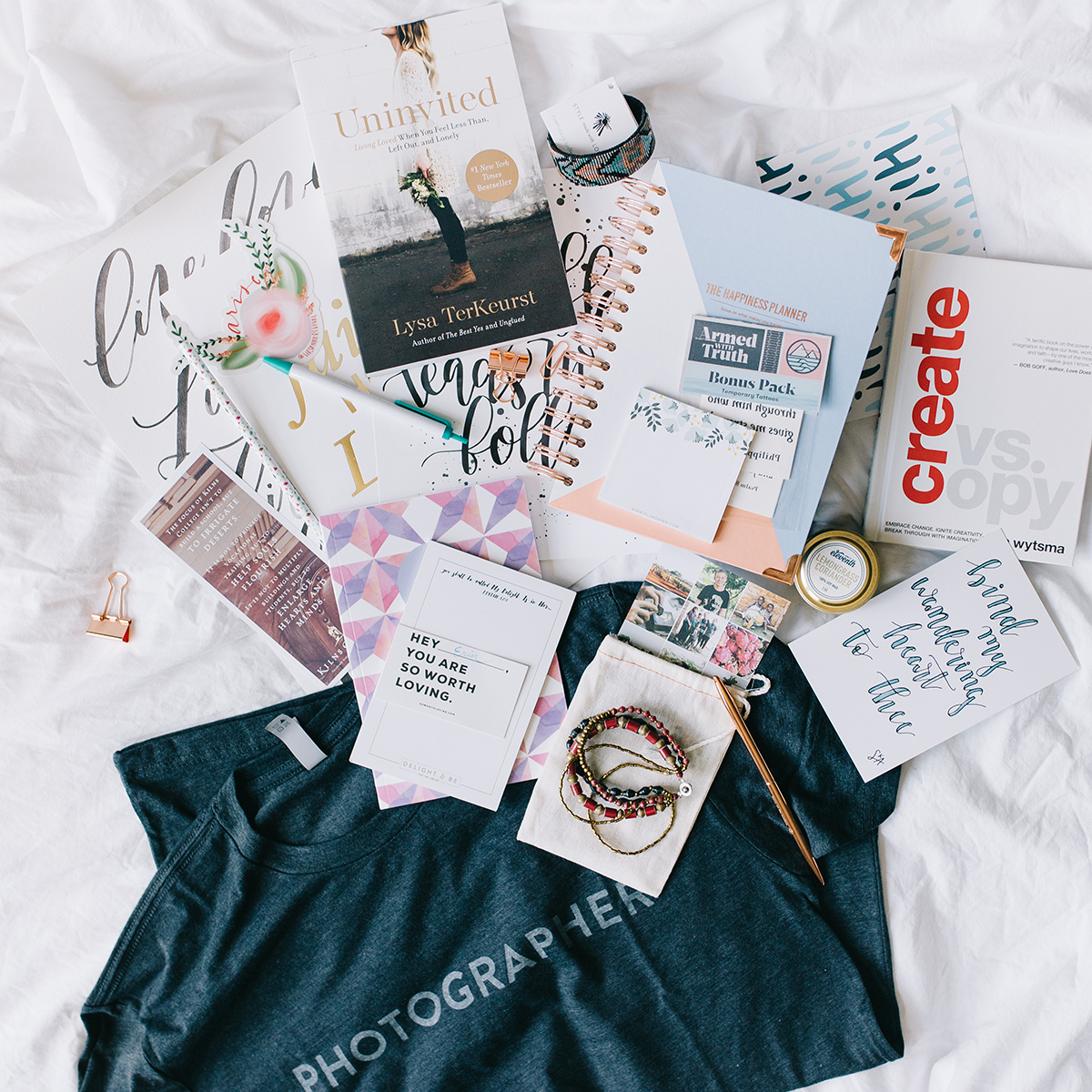 What's In the Grab Bag: Thanking Our Vendors [Pt 1] | Delight & Be Blog