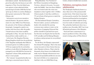 page 2 of China in 2008 in the magazine