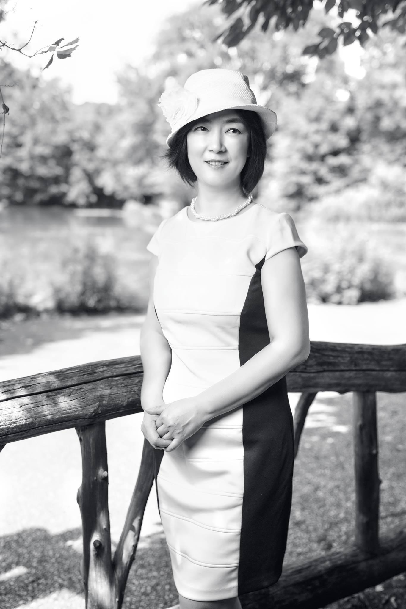Jennifer at Prospect Park, on June 29, 2017 曾錚2017年6月29日攝於紐約展望公園(Prospect Park)  Photo credit: Benny Zhang Studio  攝影: 張炳乾