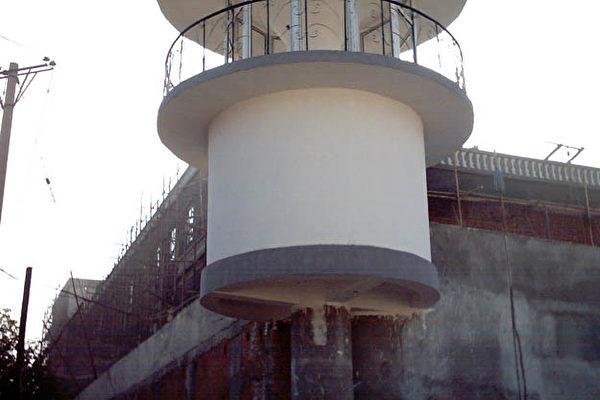 哈爾濱監獄看守塔樓(明慧網圖片)