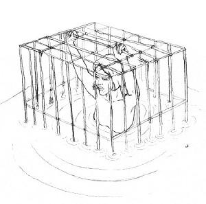 2001年9月,丁延被折磨死於承德監獄水牢。(圓明網)