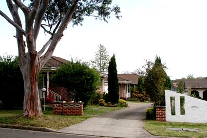 這便是一個villa小區。