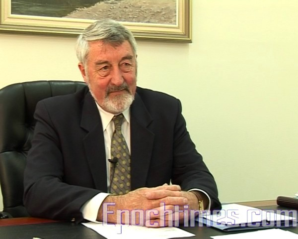 Goulburn市長史蒂文森(Paul Stephenson)