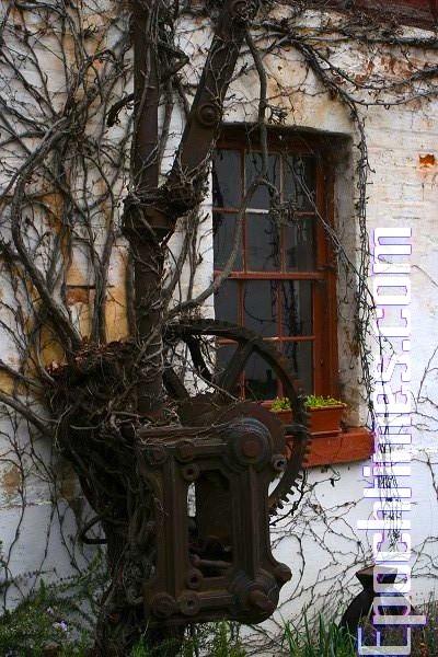 酒廠內隨處可見的「老古董」。