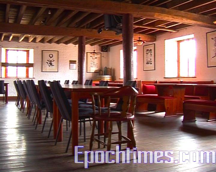 古香古色的餐廳。