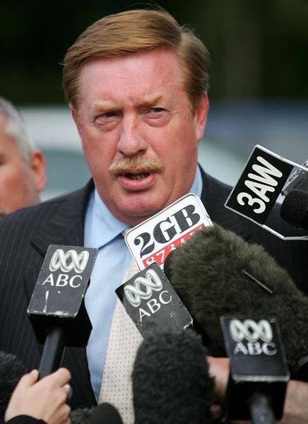 支持率跌到17%後下台的澳洲塔省省長雷儂(Paul Lennon)(圖:Sean Garnsworthy/Getty Images)