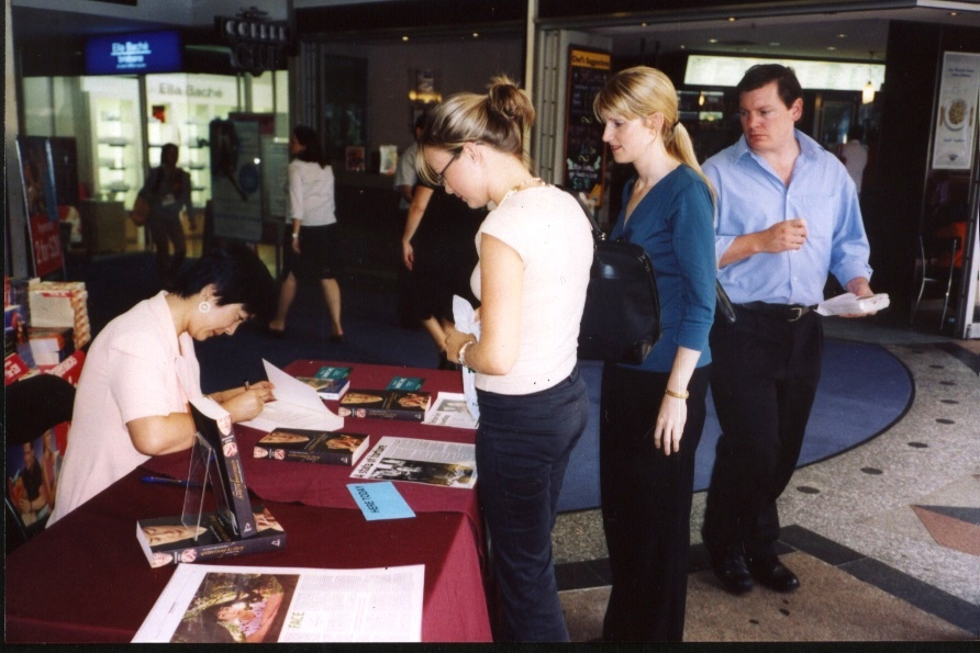 signing book in Brisbane-May 2005.jpg