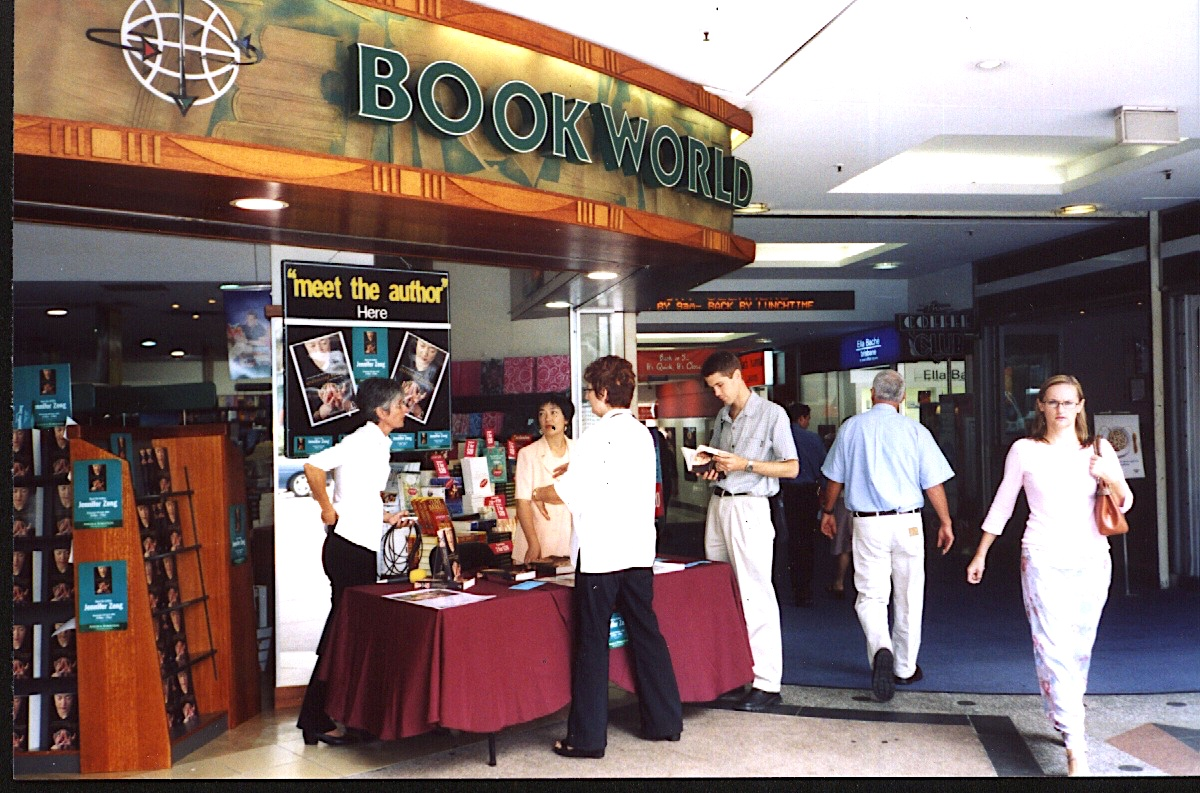 signing book at Brisbane May 2005.jpg