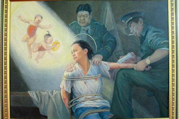 """Oil painting """"Choices"""" by Xiao Ping"""