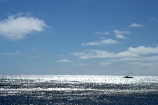 以前聽說過銀色的大海……