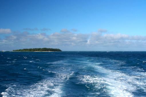 離開大堡礁時,心中不捨,手中的相機再次舉起……