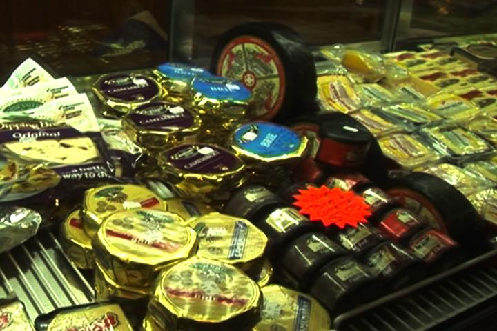 各色奶酪產品