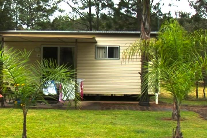 渡假營地中的便宜小屋