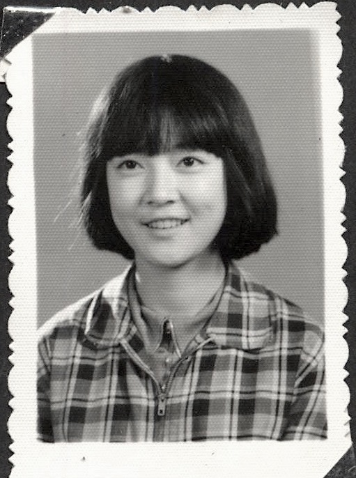Jennifer in highschool. 曾錚中學時代