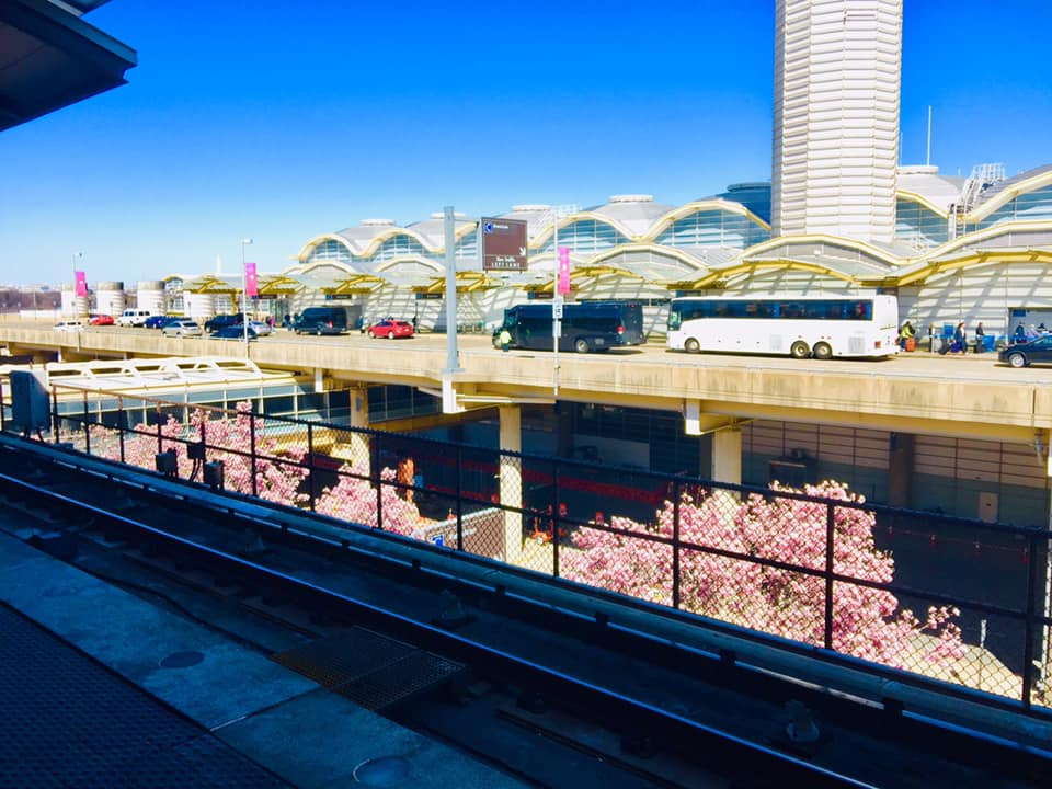 At Ronald Reagan Washington National Airport on March 26, 2019年3月26日攝於華盛頓羅納德·里根華機場。