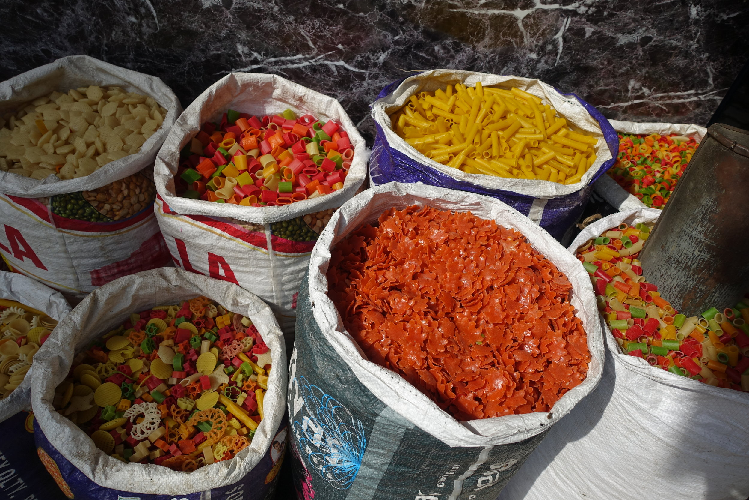 The streets of Amritsar are full of tiny shops selling dry goods, spices, pickles, and sweets with recipes that are generations old.