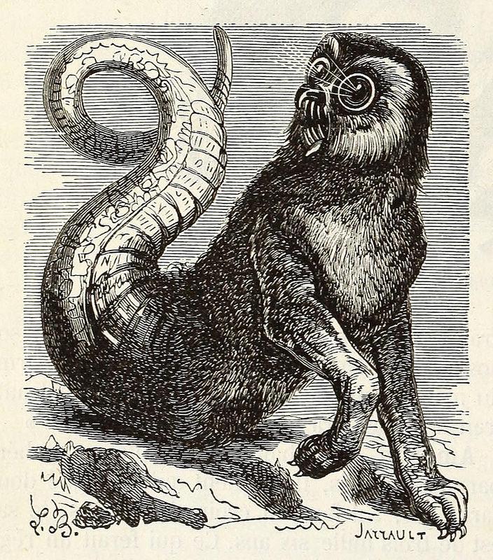 Amón, de la edición de 1863 del  Dictionnaire infernal  de Collin de Planc