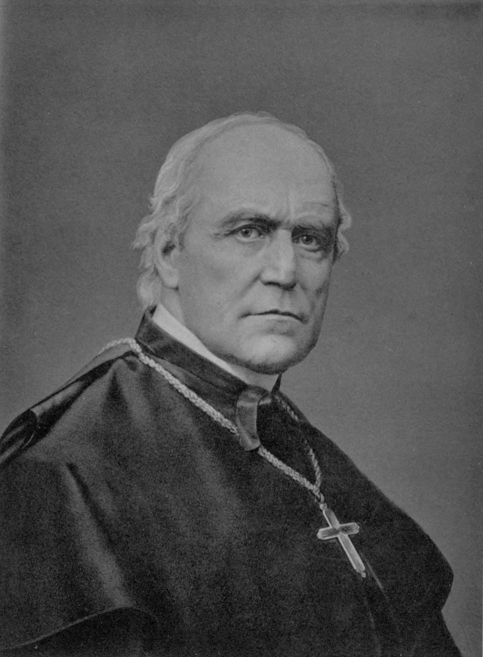 Retrato de Wilhelm Emmanuel von Ketteler, autor desconocido, anterior a 1878