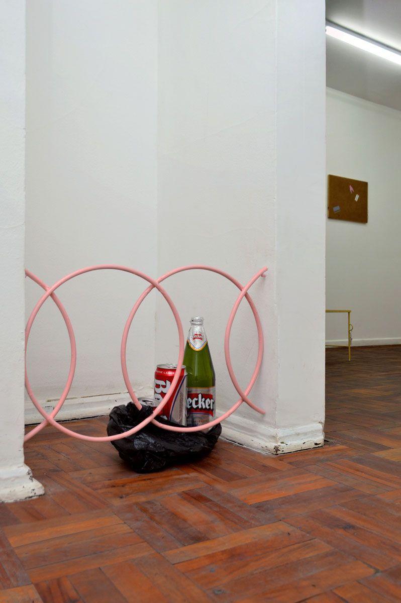 Sin título,  de la exposición  Copias en el acto,  por Rodrigo Araya, 2015