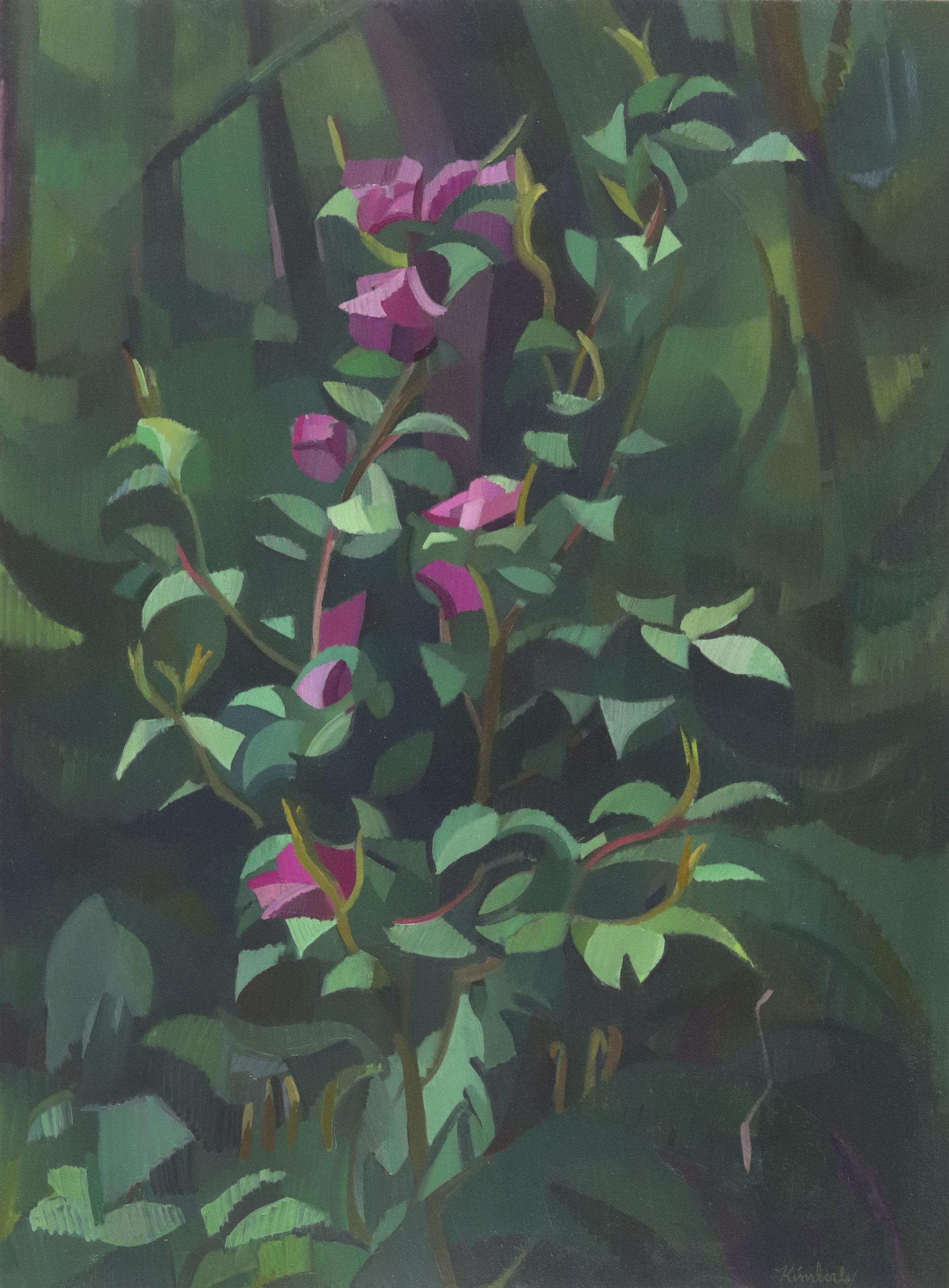 KTrowbridge_CamelliasintheForest_OilonPaperonPanel_30x22_2019.jpg