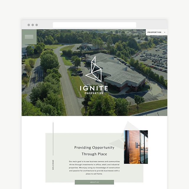 "A quick preview for a new website we are busy bringing to life! This Birmingham, AL based Real Estate Development firm brings innovation to the Commercial Real Estate market. They strive to ""Provide Opportunity through Place"" one piece of property at a time. Website coming soon!"