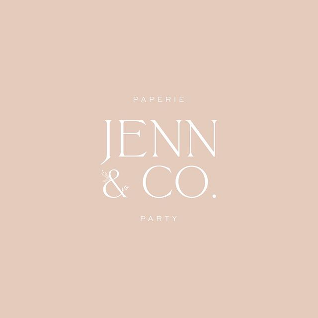 The prettiest logo for an upcoming brand and website design project. Now that this sweet client has chosen her new logo, the date has been set for us to get started on her custom designed website on Shopify! Soon you will be able to shop all things Paperie and Party🎉✨🖊