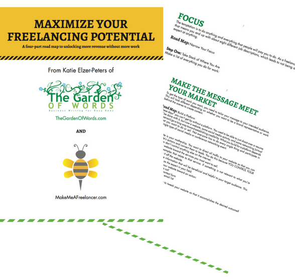4-Part Roadmap to Increasing Revenue - An 11 page guide and workbook to help you refine your focus, tailor your marketing message, manage your business, and network to increase your revenue.