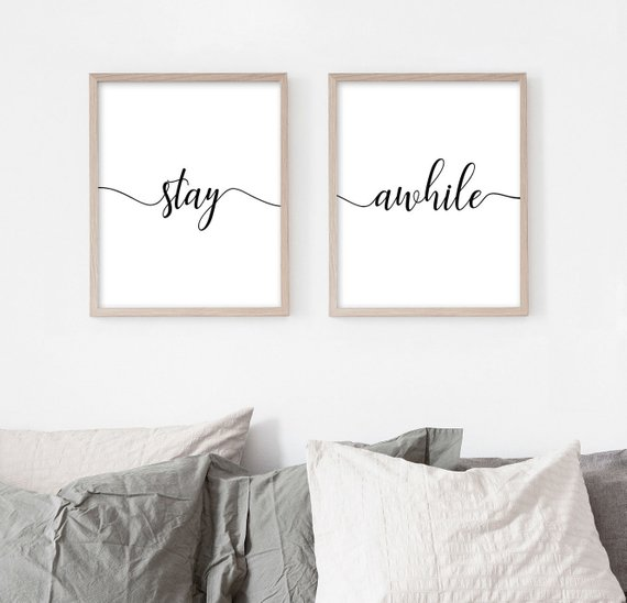 stay awhile - Thank you for visiting. Don't forget to connect with me on instagram, facebook and to sign up for my blog.Now is the perfect time to get the guest bedroom ready for the holidays. contact me today!