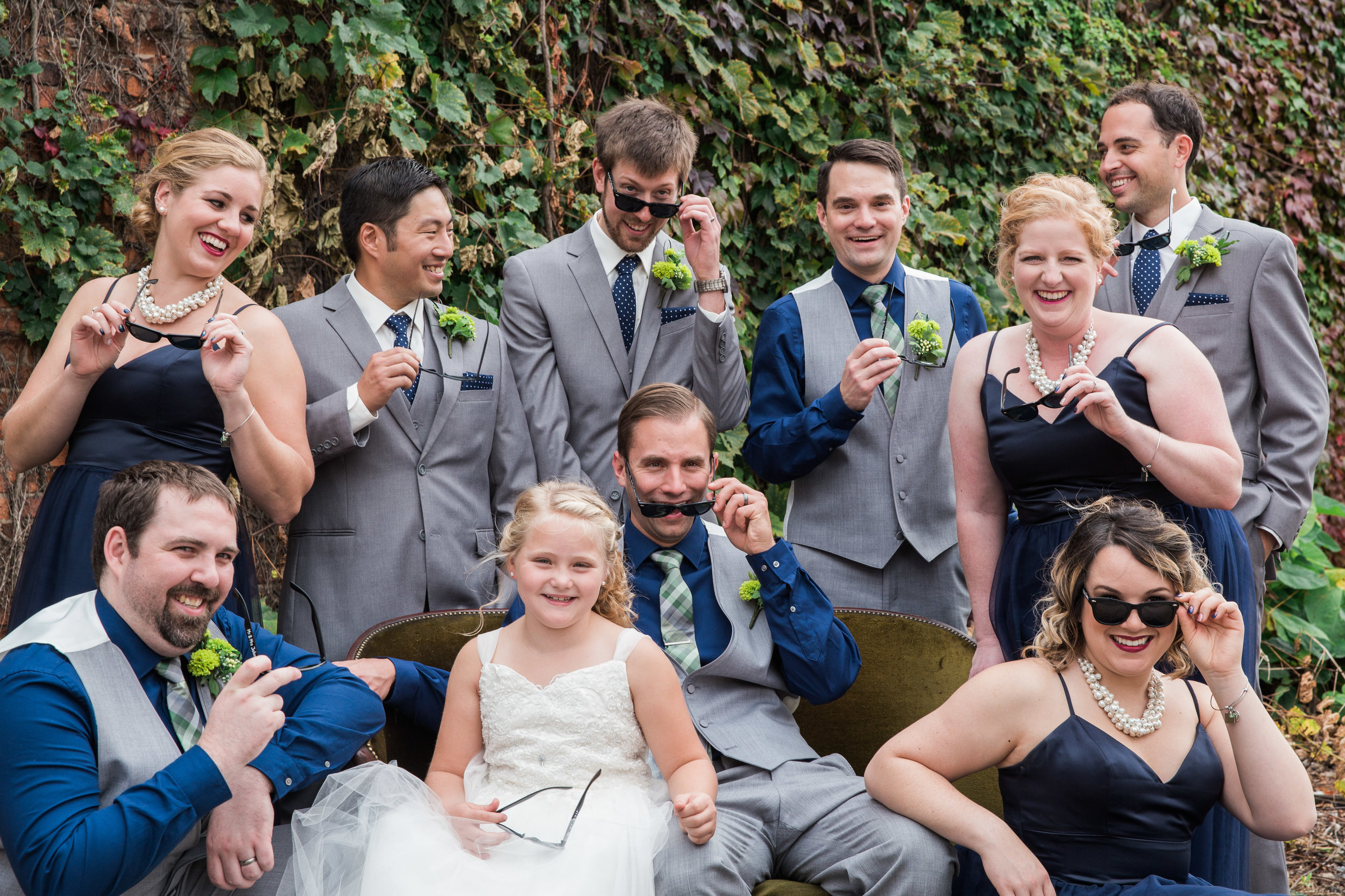 Grand Rapids Bridal Party Silly_Tania Howard Photography.jpg