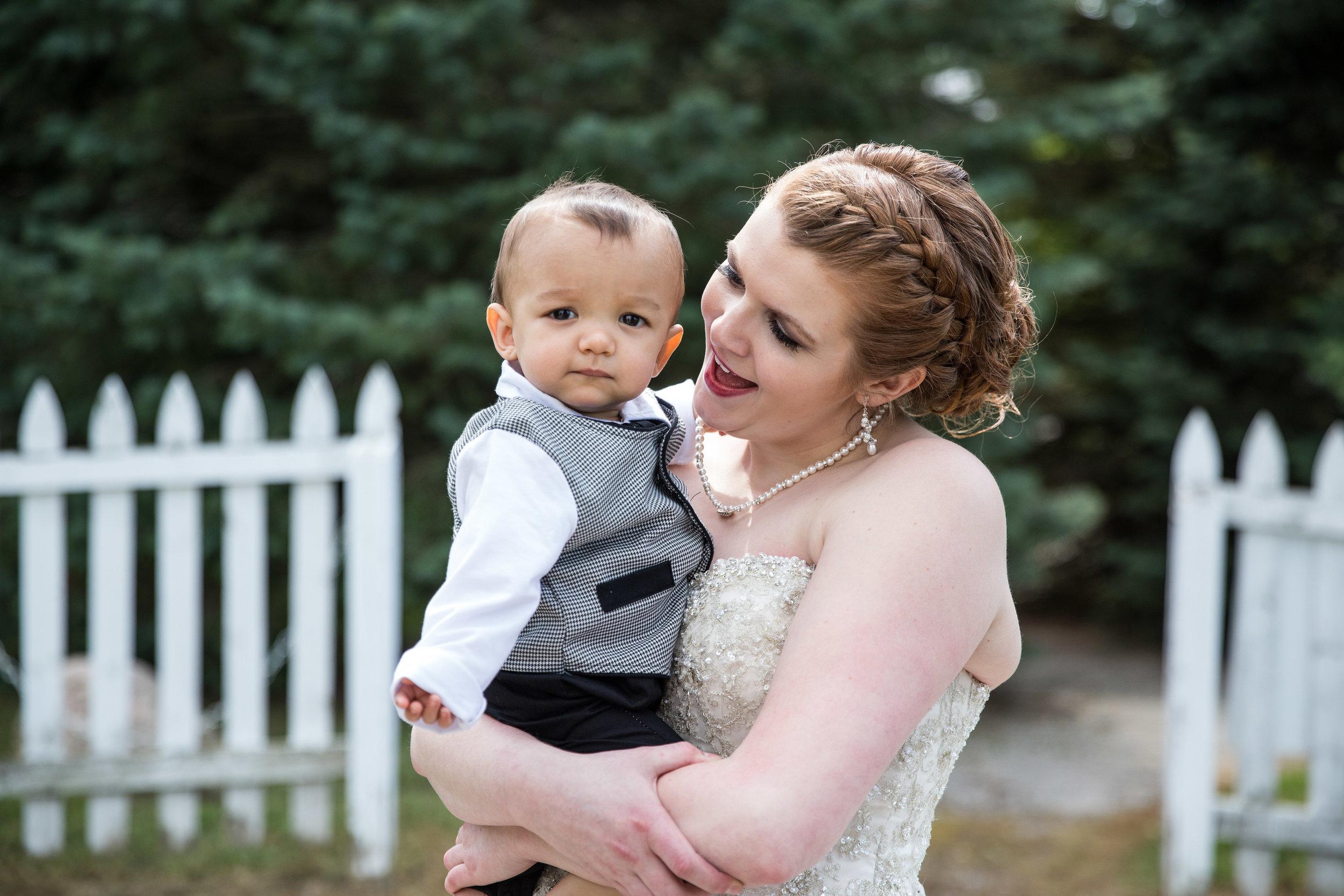 Natural Light Candid Michigan Bride and Son_Tania Howard Photography.jpg